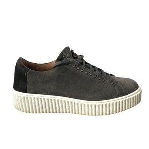 Eleventy Platform Sneakers Tennis Shoes 36 6 Gray